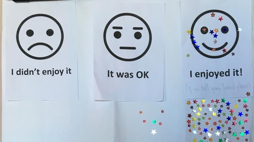 Exhibition feedback