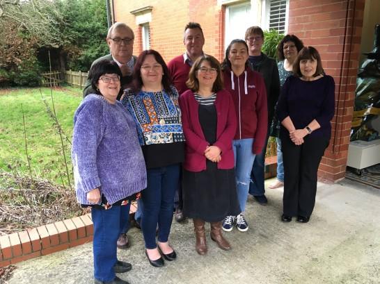 Final volunteer meeting January 2019