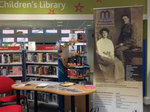 Melksham Library Volunteer Recruitment event